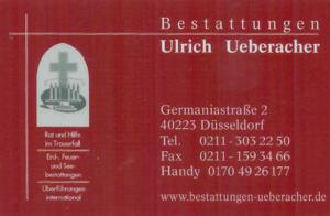 Ulrich Ueberacher Bestattungen