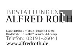 Bestattungen Alfred Roth e. K. Inh. Frank Pinnow