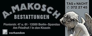 A. Makosch Steinmetzarbeiten, Innenausbau, Bestattungen und Betriebs GmbH & Co. KG