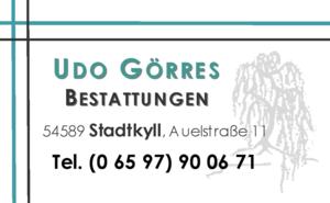 Udo Görres Bestattungen