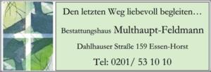 Multhaupt-Feldmann Bestattungen Inh. Thorsten Lelgemann