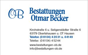 Otmar Becker Bestattungen GmbH