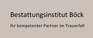 Bestattungsinstitut Boeck GmbH